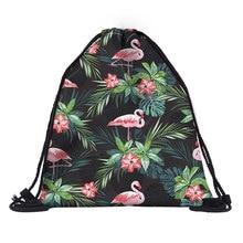 2019 National Women Drawstring Backpack Newest Vintage College Students School Drawstring bag Girls Mochila Feminina Sack