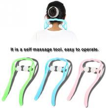 Roller Ball Self Massage Tool Shoulder Neck Back Pain Relieve Massager