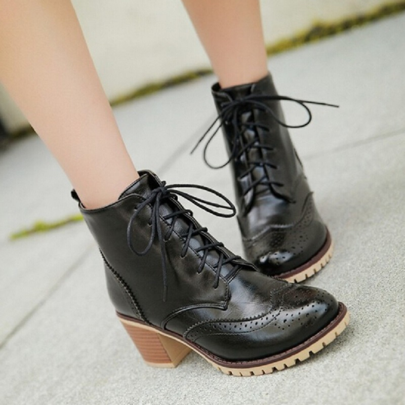 Aliexpress.com : Buy 2016 Vintage Fashion Brand Big Feet Shoes ...