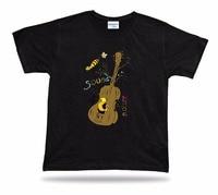 2017 Gloednieuwe Kleding Herenmode Man Katoen Kleding T-Shirt Geluid Majure Funny Comics Muziek Unisex Printing Shirt