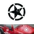 1 pcs 40 CM Estrela Arranhões Adesivos Decalques Do Carro Etiqueta Do Carro Útil para off-road Jeep Decoração Do Carro Styling acessórios