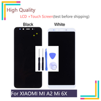 5.5 LTPS Display For Xiaomi Mi A2 LCD Display MI A2 Mi6X Mi 6X Touch Screen Digitizer Replacement For Xiaomi Mi A2 LCD Assembly