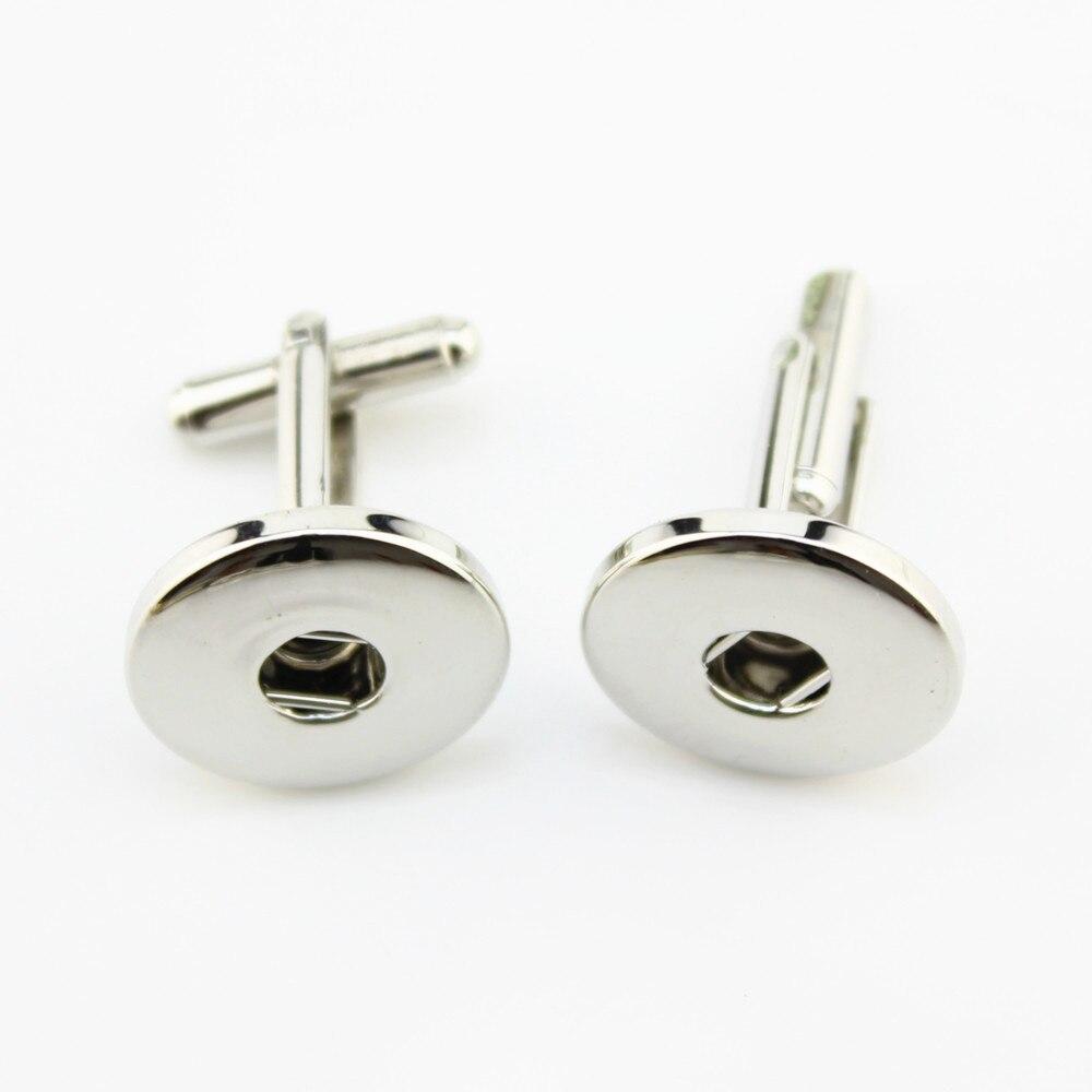 New PJ0029 Fashion one direction Zinc Alloy Mens Cufflinks Buttontie Clip Snap Stickpin fit 18MM charming snap buttons