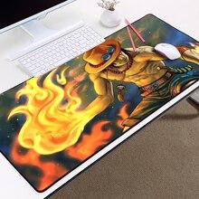 Portgas D Ace Big Sized Mousepad 400x900x2/3/4/5MM