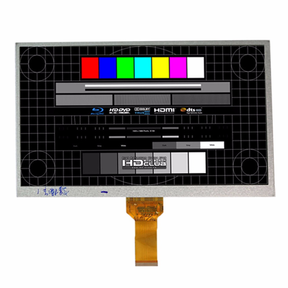 New 10.1'' Inch DX1010BE40B0.V3 YS FC101TFTCP40A KR101LE3S TFT LCD Display SCREEN 1024*600 For ALLWINNER A10 A13 Tablet Pc
