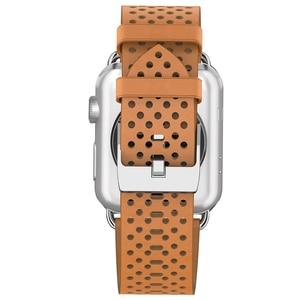 Image 5 - Hoco אביר עור אמיתי צמיד 20mm 22mm עבור אפל שעון סדרת 4/3/2 רצועת השעון עבור iwatch 40/44/38/42