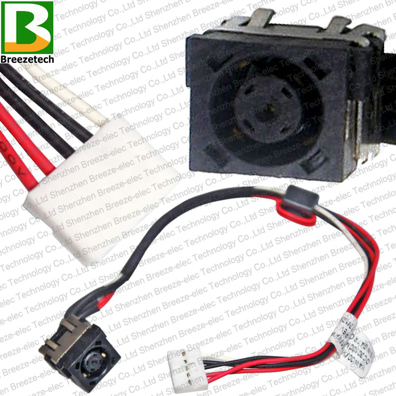 Laptop DC POWER JACK socket Cable charging port for <font><b>Dell</b></font> <font><b>Inspiron</b></font> <font><b>15</b></font> <font><b>3531</b></font> 5721 3521 2521 5537 DC30100M800 DC30100M900 image