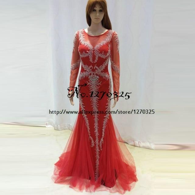Vestido formatura longo 2018 new Milan perlen spitze ...