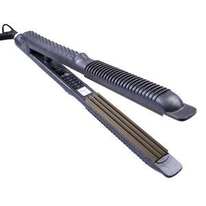 Image 2 - プロフェッショナル電子毛のストレート矯正トタン110 220ボルトコルゲーション圧着chapinhaフラットアイアン