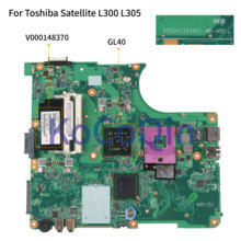 Kocoqin placa-mãe do portátil para toshiba satellite l300 l305 l350 l355 mainboard 6050a2264901 v000148370 gl40(China)