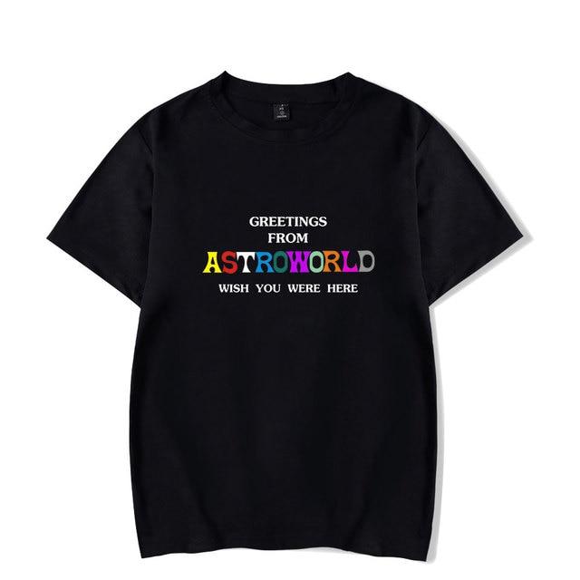 12804056 Travis Scotts ASTROWORLD T-Shirts Men/Women Casual Cool O-Neck T Shirt Men's  Summer Short Sleeve Hip Hop Print Clothing 4XL
