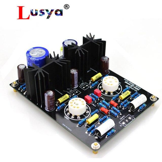 MM PHONO 12AX7 AC 12 15 V Ống preamp HiFi khuếch đại âm thanh DIY kit và hoàn thành bảng