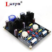 MM PHONO 12AX7 AC 12 15V Tube préampli HiFi amplificateur audio kit de bricolage et panneau fini