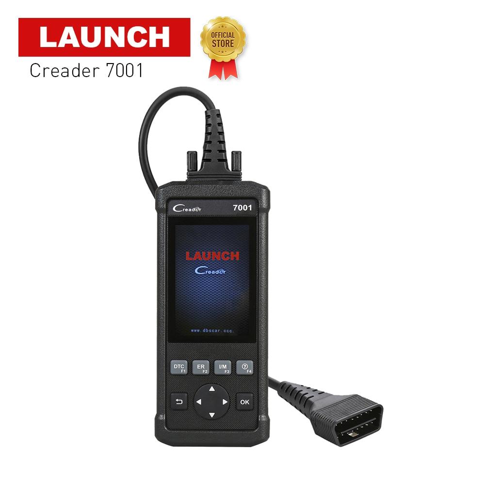 2018 Obd2 Escaner Automotriz Creader 7001 Obd 2