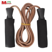 3m Jump Rope fitness Speed Skipping PU Leather Adjutable Unisex Tough durable For Gym Lose Weight Exercise for sport training