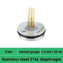 0 4 bar 400 kpa vented gauge mV output piezoresistive pressure transducer power 1 5mA or