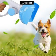 2 In 1 Pet Pooper Scooper Poop Bags Set Dog Cat Outdoor Waste Cleaning Shit Pickup Remover