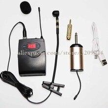 Музыкальный инструмент зажим s-образной формы Mic UHF Band Передатчик Приемник саксофон скрипка труба флейта Беспроводная микрофонная система