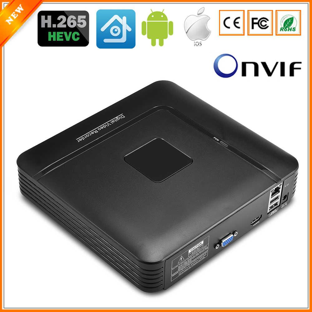 BESDER H.265 Max 5MP Выход CCTV NVR 16CH 5MP/8CH 4MP/4CH 5MP безопасный видеорегистратор H.265 обнаружения движения ONVIF P2P CCTV NVR