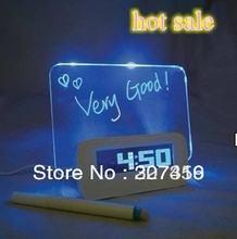 5 шт Новый светодиодный цифровой будильник Люминесцентная доска