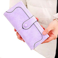 Women Wallets Soft Leather Ladies Coin Purses Credit ID Card Holder Multi Card Wallet Clutch Bifold