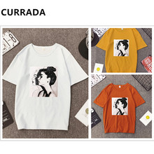 3Pcs/Lot 2019 New Fashion T shirt Woman Summer Girls Print Short Sleeve O Neck Cotton Women Casual Top Tshirt Plus Size S-XXXL все цены