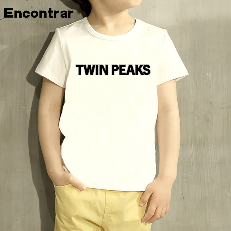 Childrens Twin Peaks Black lodge Flag Design Baby Boys/Girl T Shirt Kids Funny Short Sleeve Tops Children Cute T-Shirt,HKP339