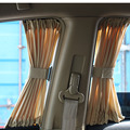 2016 New 70S Cotton Fabric Car Curtain Side Window Car Sun Shade Curtain UV Protective Block Window Curtain Sunshade Set