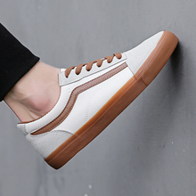 New Men Casual Shoes Black Fashion Lace-Up Flat Canvas 2018 Spring Summer Breathable Shallow For  5
