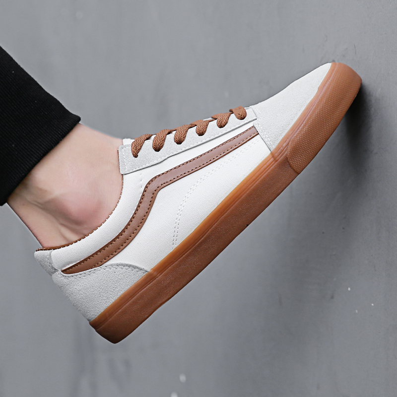 New Men Casual Shoes Black Fashion Lace Up Flat Canvas Shoes 2018 Spring Summer Breathable Shallow Shoes For Men 5