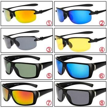 43754bdd8e Warblade hombres polarizados Gafas de sol moda gradiente masculino Cristal  de conducción UV400 polarizado gafas estilo gafas lunette 2018 caliente