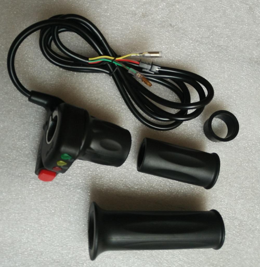Support//Scooter Électrique Throttle avec interrupteur à clé /& Batterie niveau 48 V-US Vendeur