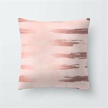 Polyester pillow  Rose Gold throw sofa car cushion Home Decor Office Back Chair Car