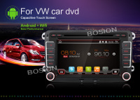 3G Dual Core 2 Din Android 4 4 Car DVD Player For VW Volkswagen GOLF 5
