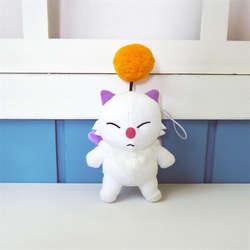 Final Fantasy FF15 Moogle Mogli мультфильм Косплэй плюшевая игрушка-брелок кукла подарок мешок для сбора Запчасти аксессуары Орнамент