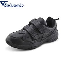 JABASIC New School Uniform Sneaker Black White Pu Leather Sh
