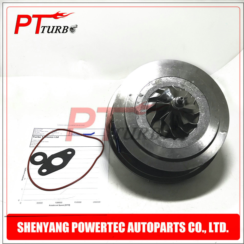 Balanced 762060-0009 762060-0013 762060-0016 Turbine cartridge core CHRA for Volvo V50 / XC90 2.4 D5 163-180 HP 120-132 Kw I5D image