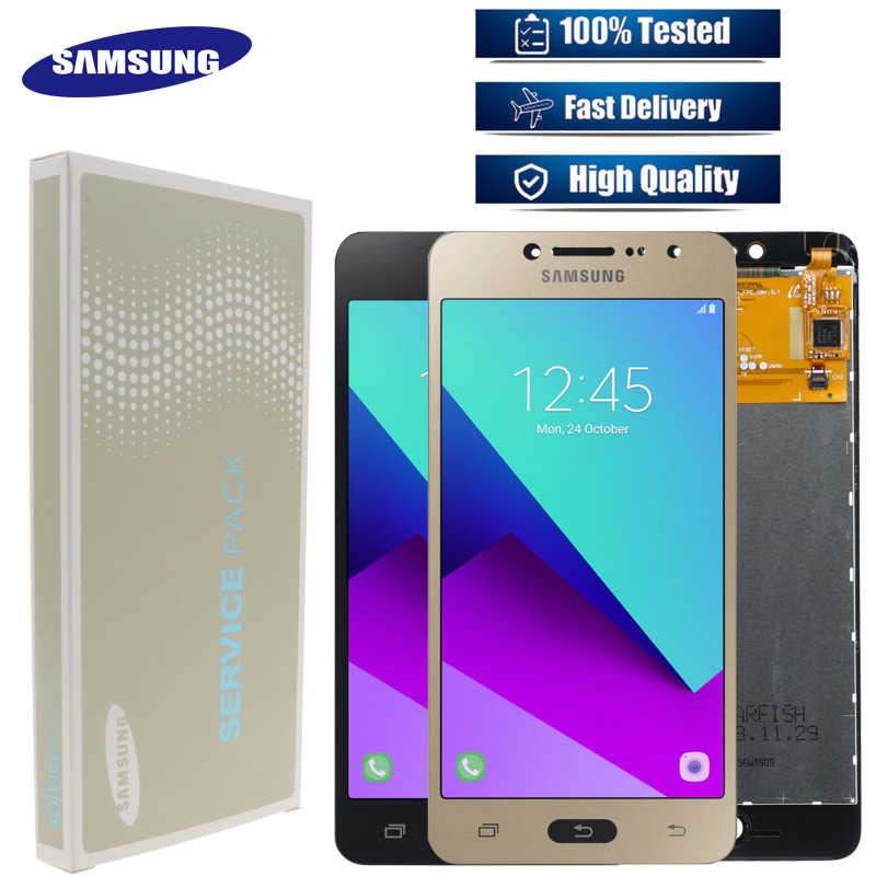 "Originale 5.0 ""Touch Screen Digitizer G532 Display LCD Assembly Per Samsung Galaxy J2 Prime SM-G532 SM-G532F G532F LCD di Ricambio"