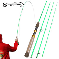 Sougayilang Spinning Rod or Flying Fishing Rod Ultra Light Double Use Rod for Outdoor Fishing Pole