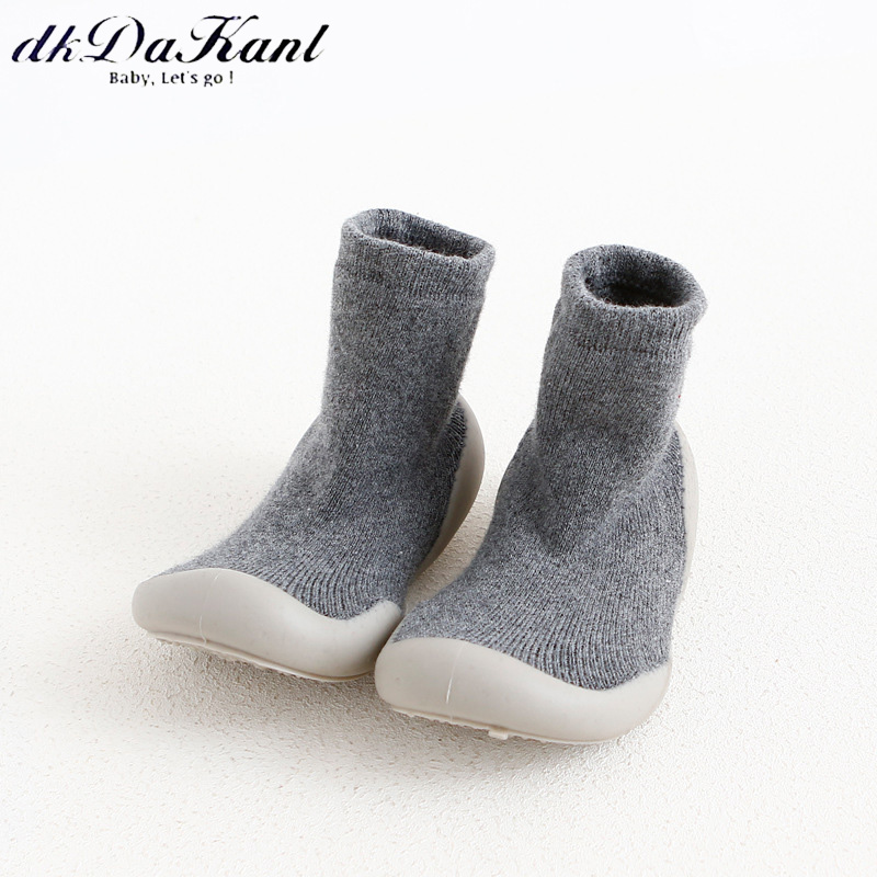 dkDaKanl 2018 New Autunm and Winter Terry Thickening Baby Shoes Rubber Bottom Non Slip Children Casual Shoes Toddler Shoes Baby
