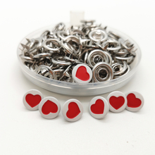 50 Set 9mm Press Studs Snap Popper Prong Fastener Buttons Sewing Craft DIY New