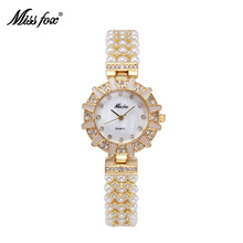 Miss Fox Watch Women Brand Fashion quartz-watch Women's clock relojes mujer dress ladies watch Business Bracelet Gold Wrist Saat