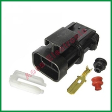 цена на Male Connector Terminal Car Wire Connector 2 pin Connector Female Plug Automotive Electrical>DJ70255-6.3-11