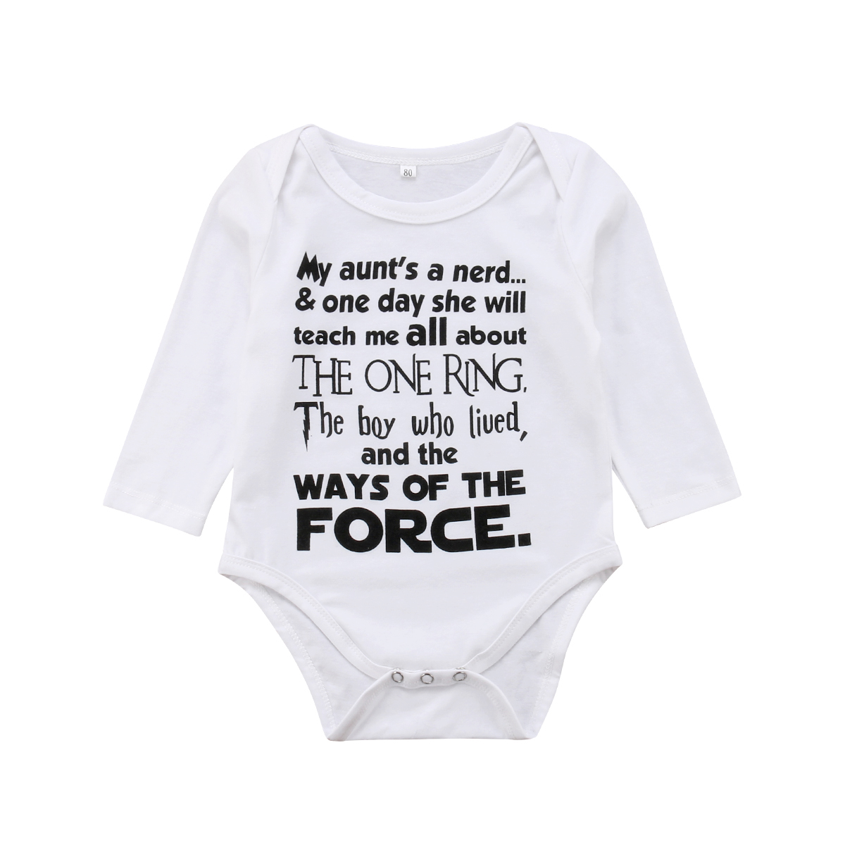 0-18 Mt Neugeborene Jungen Mädchen Langarm Brief Drucken Baumwolle Romper Overall Outfits Baby Kleidung Elegant Im Geruch