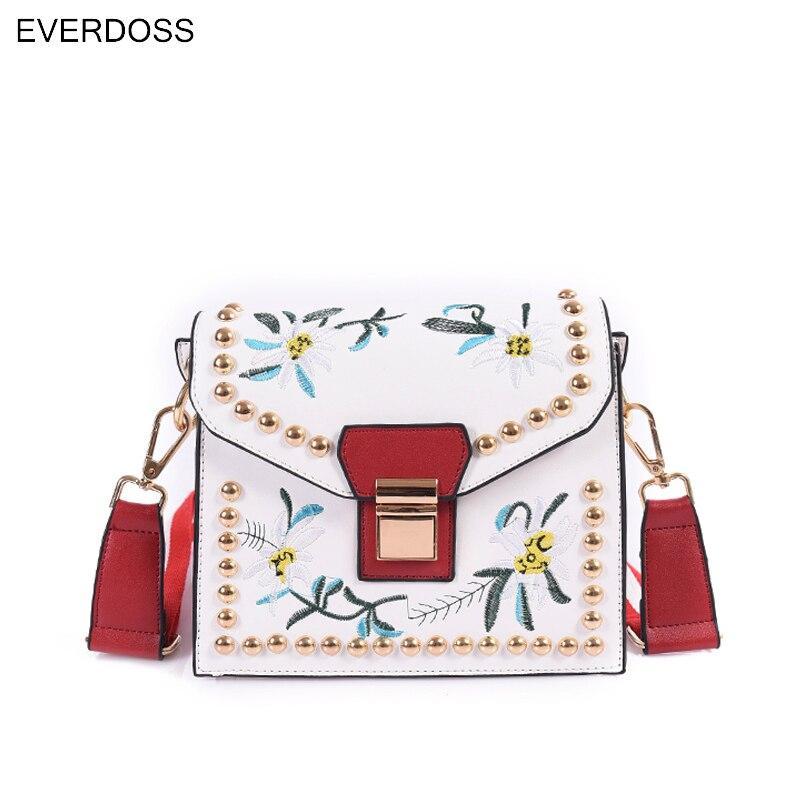 Autumn New Fashion Rivet Mimi PU Leather Crossbody Bags Womenu0027s Designer  Brand Handbag Ladies Shoulder Messenger