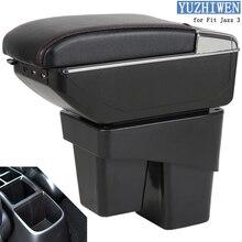 Para Honda Fit Jazz Caixa Braço Fit Jazz 3 caixa de Armazenamento Caixa de apoio de Braço Central Do Carro Universal suporte de copo cinzeiro acessórios modificação