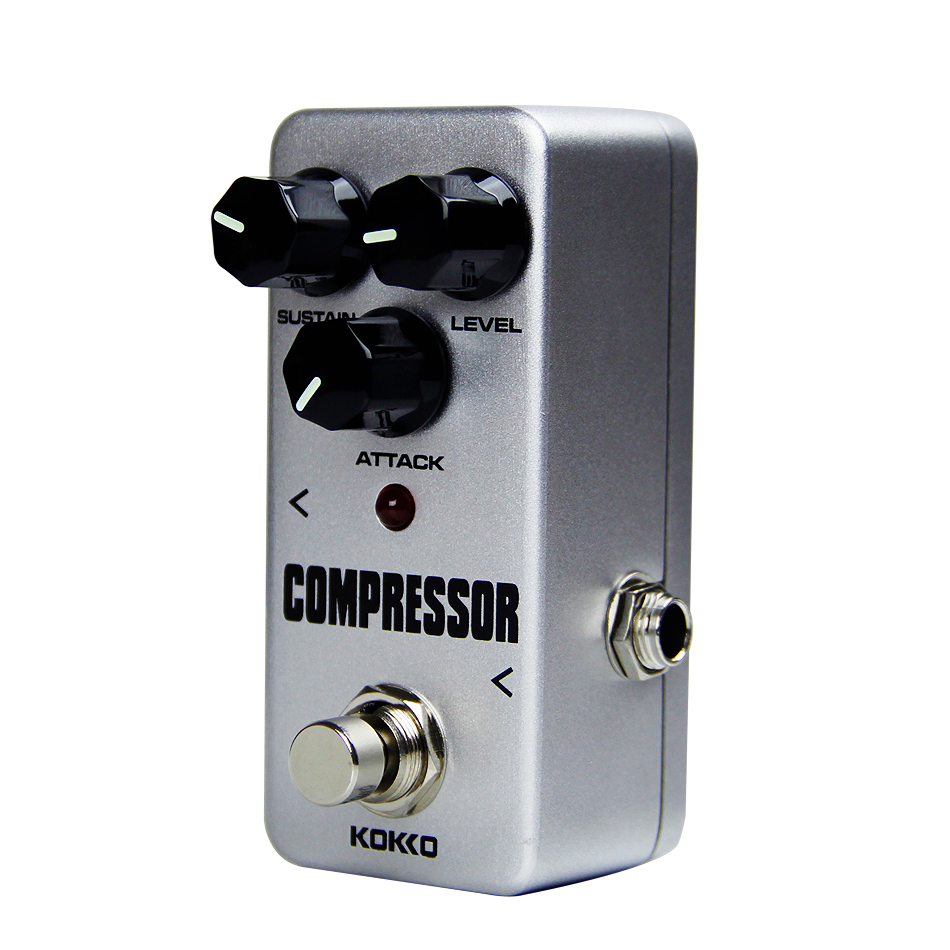 Kokko Fcp2 Mini Compressor Pedal Portable Guitar Effect High Electric Parts Diagram And Structure Quality Guitarra In Accessories From Sports