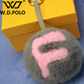 W.D.POLO New fashion design bag charm bag bugs chic monster Fur new trendy popular bag matching stuff M2083