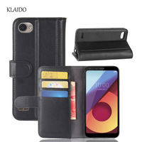 KLAIDO Genuine Leather Mobile Phone Case For LG Q6 Plus Q6 M700N M700A L G Q6