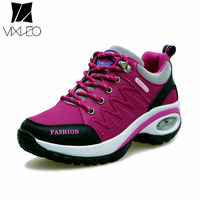 VIXLEO women sneakers breathable air cushion running shoes for women high quality black sport shoes woman 2018 jogging shoes